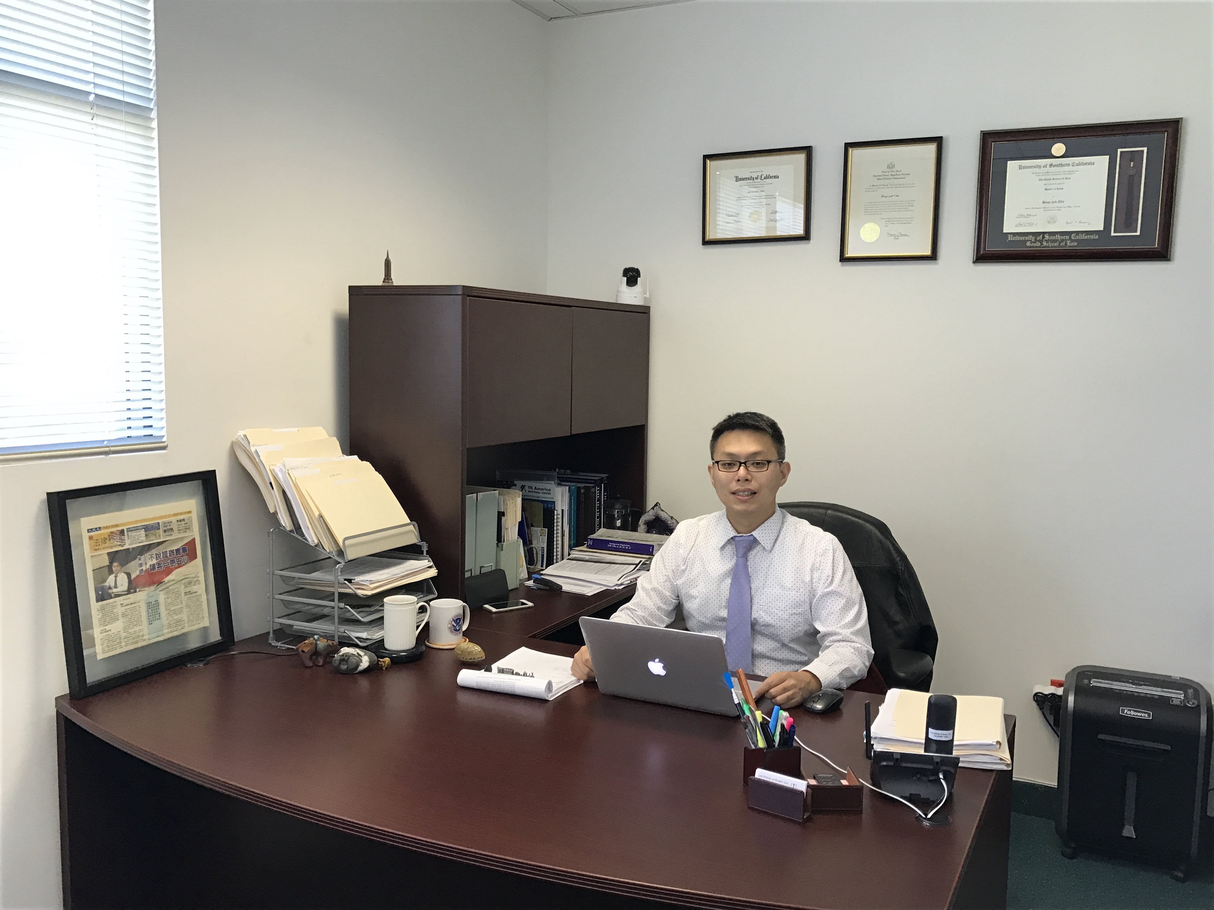 Attorney Hubert Chu